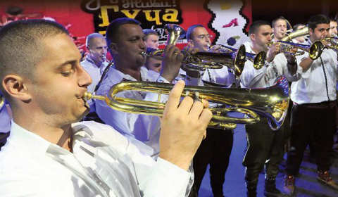 Veljko Ostojić от село Злакуса е победителят на 52-я Драгачевски събор на духовата музика в Гуча