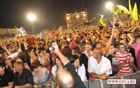 Събор на духовата музика Гуча 2012 (6-12 август)