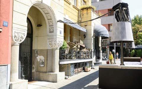 Severina Vučković и Milan Popović - кафе-ресторант Moda