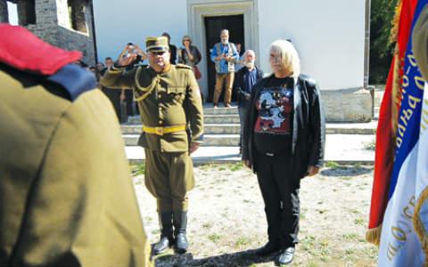 Bora Đorđević положи клетва за четнически войвода