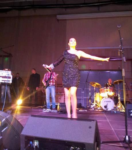 "Ceca направи концерт в зала ""Walserfeldhalle"" в Залцбург"