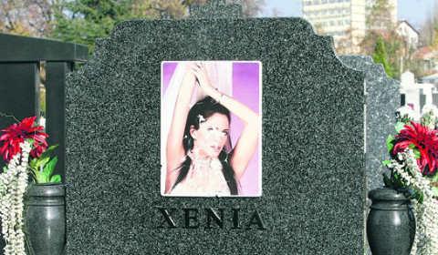 Гробът на Ksenija Pajčin отново осквернен!
