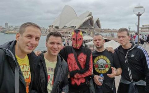 """Група """"Amadeus"""" започна турне в Австралия"""