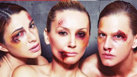 Goca Tržan, Tijana Dapčević и Marina Tadić се опитват да привлекат внимание върху насилието над жени