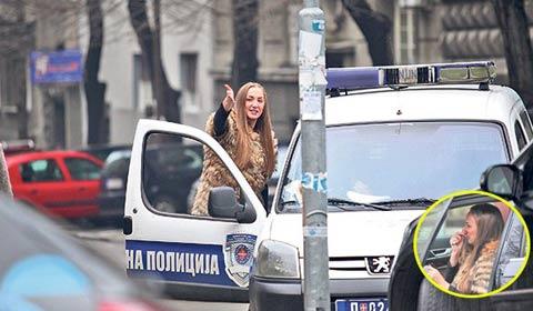 Инцидент: Goga Sekulić нападната в центъра на града
