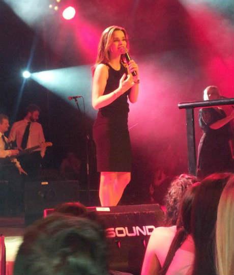 Severina Vučković направи концерт в Цюрих