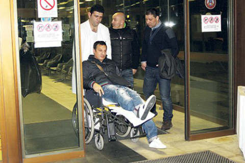 Оперираха коляното на Gagi Đogani