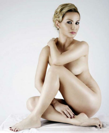 "Goca Tržan гола на корицата на ""Playboy"""