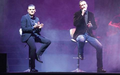 Sergej Ćetković пя на концерта на Sal da Vinci