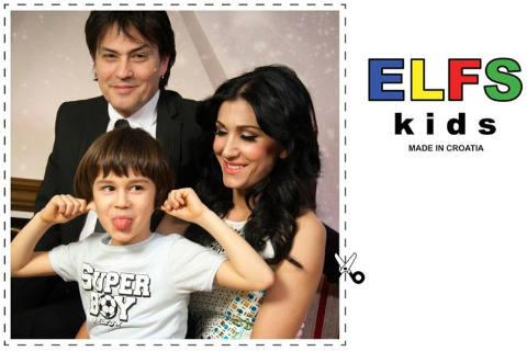 Синът на Vlado Kalember и Ana Rucner стана манекен