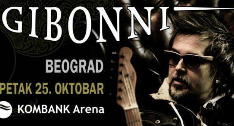 Започна продажбата на билети за концерта на Gibonni в Белград