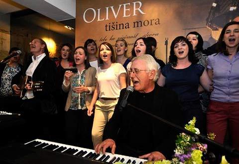 Oliver Dragojević: Промоция на новия албум