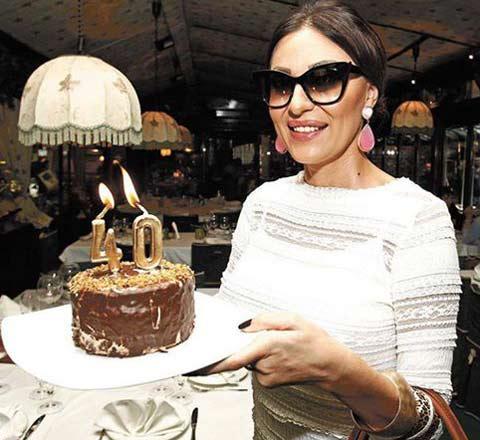Ceca отпразнува рождения си ден със семейството