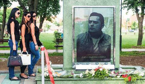 Спомен: Фонтан на Darko в Обреновац