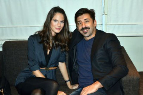 Danijela Dimitrovska и Ognjen Amidžić чакат син