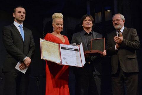 Zdravko Čolić получи наградата Isa-beg Ishaković