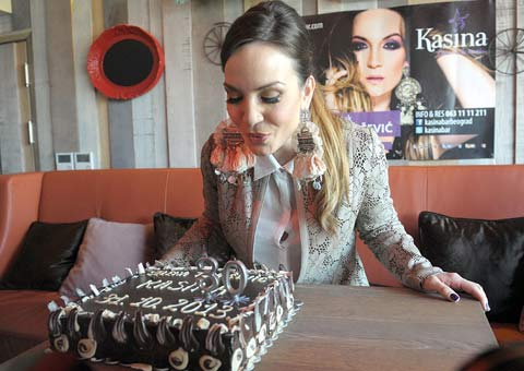 Jelena Tomašević празнува 30-ти рожден ден
