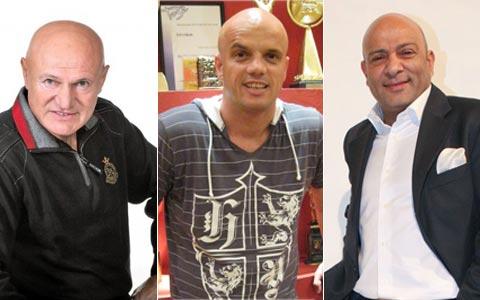 Šaban Šaulić, Boban Rajović, Džej Ramadanovski