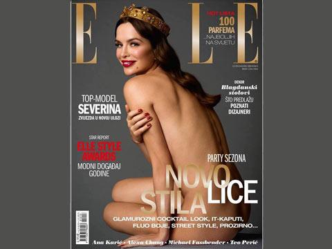 Severina Vučković се снима гола за списание Elle