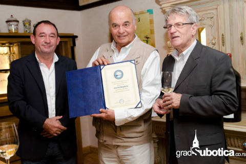 Zvonko Bogdan – почетен председател на световните тамбуристи