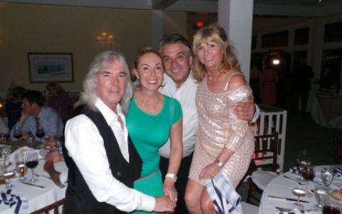 Среща на старите приятели: Brena и Boba на сватба с басиста на AC/DC