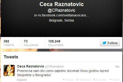 В новогодишната нощ фолк звездата Svetlana Ražnatović ще пее в Белград