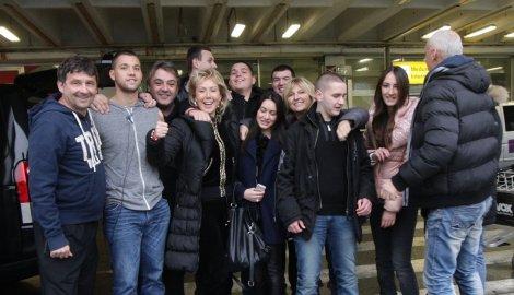 Синовете на Lepa Brena и Boba Živojinović се завърнаха в Сърбия за коледните и новогодишни празници