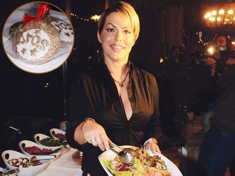 Seka Aleksić организира традиционната новогодишна вечеря