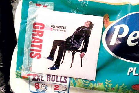 Новият албум на Bregović гратис с тоалетна хартия