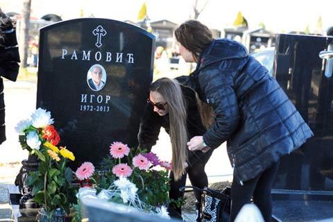 Goga Sekulić направи шестмесечен помен на съпруга си