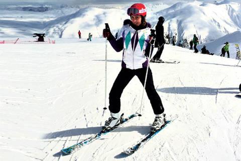 Mia Borisavljević скиор номер едно в Алпите