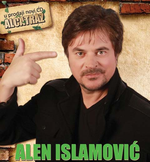 "Alen Islamović пусна албума ""Alcatraz"""