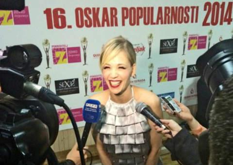 Jelena Rozga - Oskar popularnosti 2014