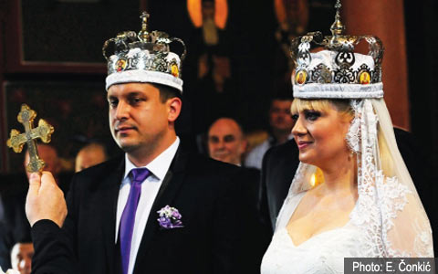 Омъжи се сръбската поп певица Jelena Ristić - Jellena