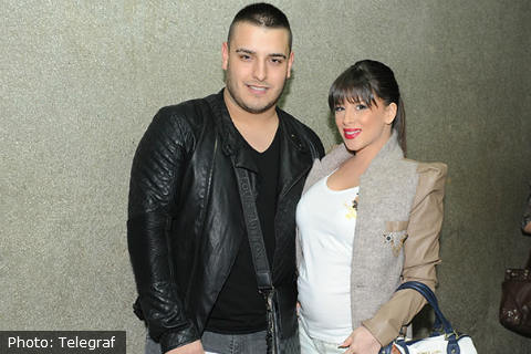Darko Lazić и Ana Sević имат момиченце