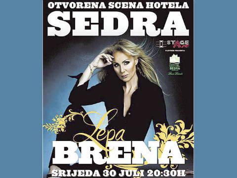 Lepa Brena - концерт в хотел Sedra