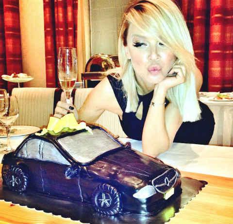 Maja Šuput отпразнува своя 35-и рожден ден