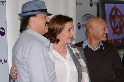 Haris Džinović, Ana Bekuta и Šaban Šaulić: Концерти в Нови Сад и Белград