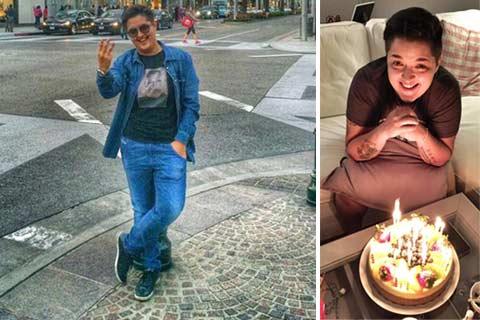 Marija Šerifović отпразнува рождения си ден в Америка