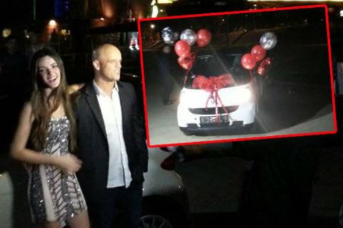 Boban Rajović подари на дъщеря си автомобил за 18-я й рожден ден
