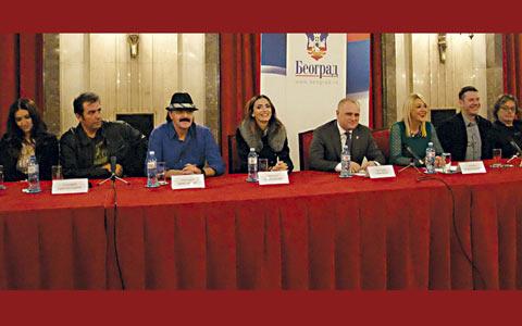 Посрещане на Нова година в сръбската столица