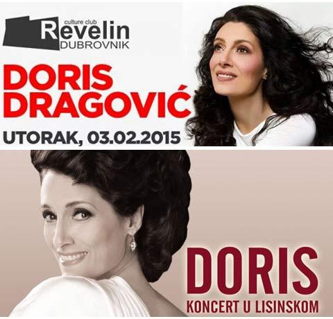 Doris Dragović концерт в Дубровник