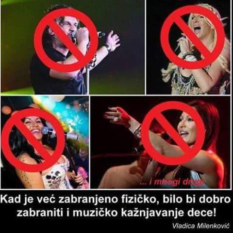 Kristina Kovač подкрепя забраната на Karleuša и Ceca