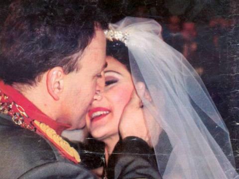 Преди две десетилетия се венчаха Ceca и Arkan (видео)