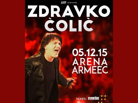 """Zdravko Čolić концерт в """"Arena Armeec"""""""