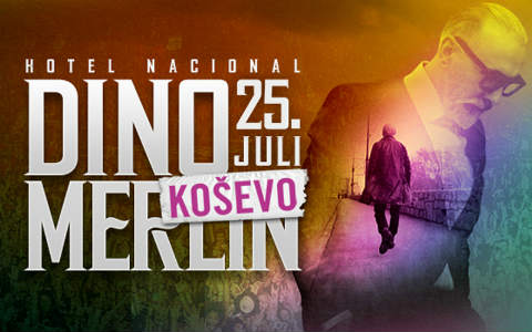 "Голям концерт на Dino Merlin на ""Koševo"""