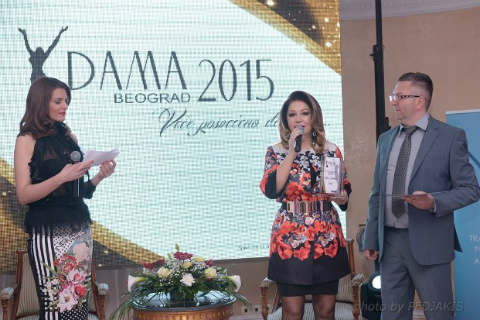 "Neda Ukraden носител на наградата ""Dama 2015"""