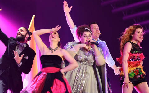 Евровизия 2015: Сърбия на финал, Македония отпадна