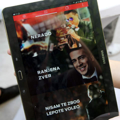 Željko Joksimović представя новия си албум чрез мобилно приложение