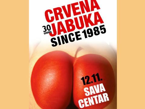 """Crvena jabuka"" празнува 30 години кариера в ""Sava centar"""